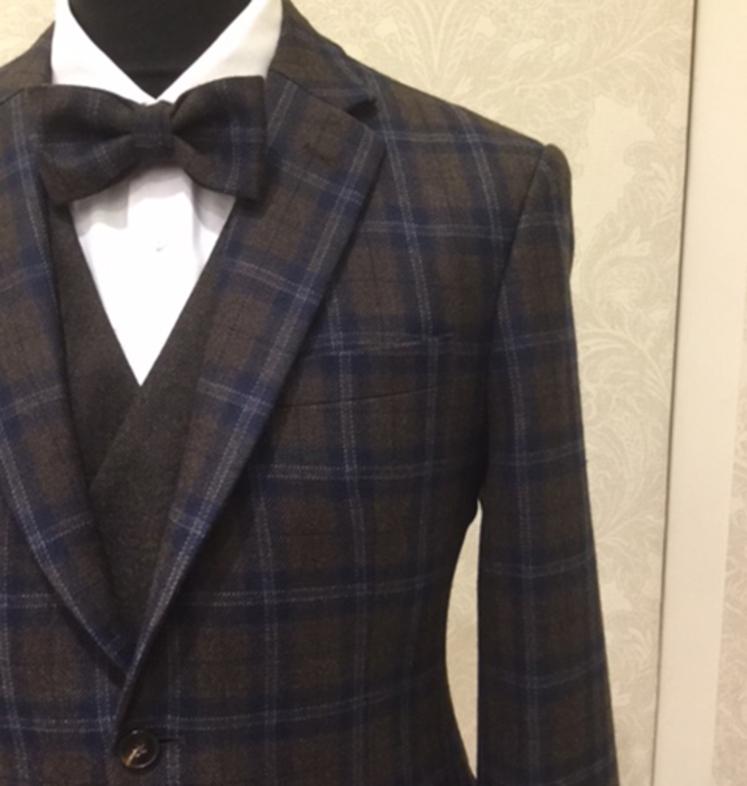 Hochzeitsanzug Herren Blazer Business Anzug In Vintage Look Aus