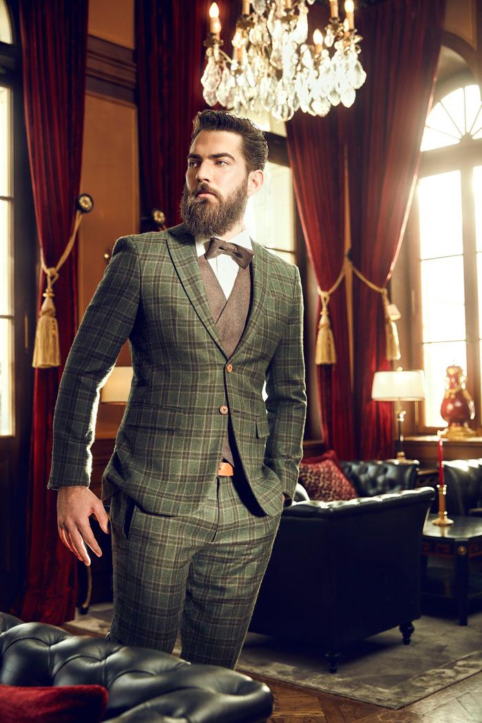 Tweed anzug