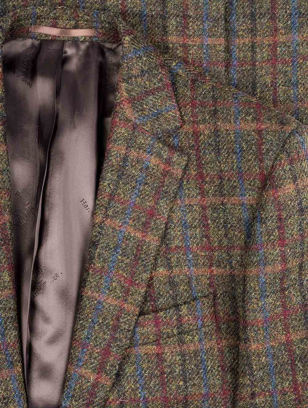 Harris Tweed Ein Echtes Stuck Natur Massanzuge Amp Masshemden